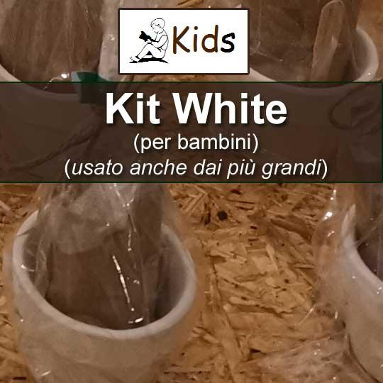 Kit White per ragazzi